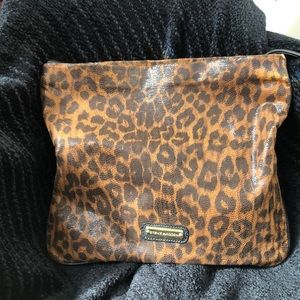 GOOD CONDITION STEVE MADDEN ANIMAL PRINT CLUTCH